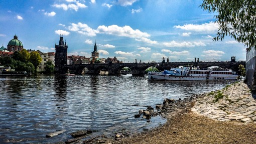 Charles Bridge and Swan Place