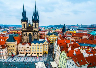 Prague city center tour